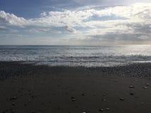 Strand en oceaan Stock Foto's