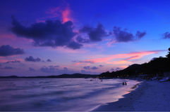 Strand en overzees Stock Foto
