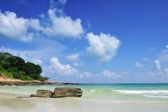 Strand en overzees stock foto's