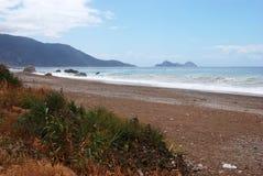 Strand en overzees dichtbij Kas royalty-vrije stock afbeeldingen
