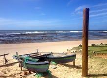 Strand en overzees op de kust van Bahia royalty-vrije stock foto's