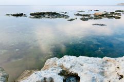Strand en rust stock fotografie