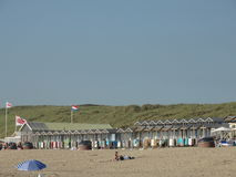 Strand en seasight in Wijk aan Zee Stock Fotografie
