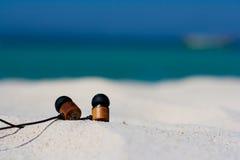 Strand en tropische overzees Royalty-vrije Stock Foto