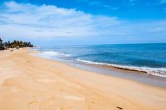 Strand en tropische overzees Royalty-vrije Stock Afbeeldingen
