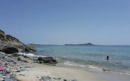Strand en zon stock afbeeldingen