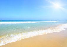 Strand en zon Stock Fotografie