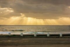 Strand espinho Portugal Stockfoto