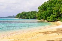 Strand - Espiritu Santo Arkivbild