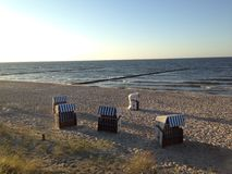 Strand för baltiskt hav Royaltyfria Foton
