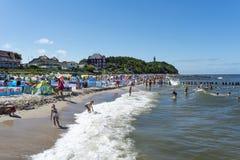 Strand för baltiskt hav Royaltyfria Bilder