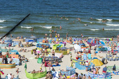 Strand för baltiskt hav Royaltyfri Fotografi
