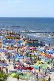 Strand för baltiskt hav Arkivbild