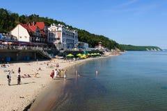 Strand för baltiskt hav. Svetlogorsk royaltyfri foto