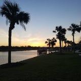 Strand för bra morgon arkivbild
