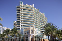 Strand för Condo för IL Villaggio södra arkivbilder