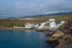 Strand för El Puertito, Tenerife ö Arkivbilder