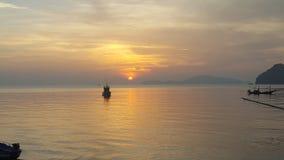 Strand för hattsairee i chumporn thailand3 vid S6 Royaltyfria Foton
