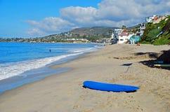 Strand för helgonAnns gata i södra Laguna Beach, Kalifornien Royaltyfri Bild