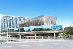 Strand för kongressmitt i Stockholm, Sverige Royaltyfri Bild