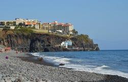 Strand för PraiaFormosa singel Arkivbilder