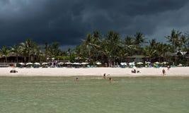 Strand för storm Arkivfoton