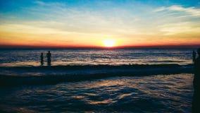 strand för styrmanbazarhav arkivbild
