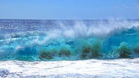 Strand för vågpundskilsmässa i Cabo Arkivfoton