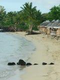 Strand Fales op Savaii Royalty-vrije Stock Foto's