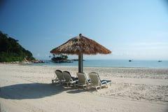 Strand-Feiertag. Lizenzfreies Stockfoto