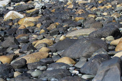 Strand-Felsen Stockfoto