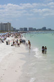 Strand in Florida Royalty-vrije Stock Afbeeldingen