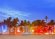 strand florida miami royaltyfri fotografi