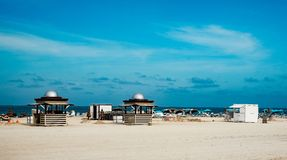 strand florida miami Arkivfoto
