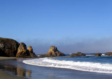 Strand in Fort Bragg Stockfotografie