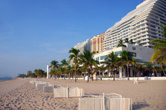 strand Fort Lauderdale Arkivbild
