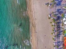 strand Fort Lauderdale Arkivbilder