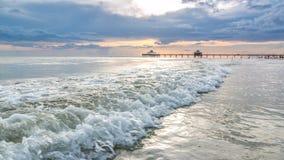 strand Fort Myers Arkivbilder