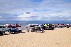 Strand Foulpointe, Madagaskar Stockfotos