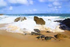 Strand från Puerto Rico Arkivbilder