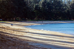 Strand früh morgens Stockbilder