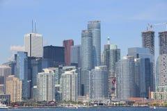 Strand för kontor för företags affär i Toronto Arkivbild
