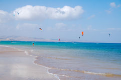 Strand Fuerteventura Royalty-vrije Stock Foto
