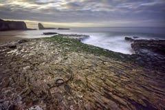 strand fyra mile Arkivbild