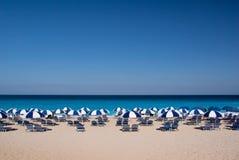 strand greece Arkivfoto