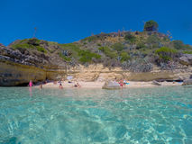 Strand Grekland Royaltyfri Foto
