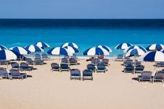 Strand in Griechenland Stockfotografie