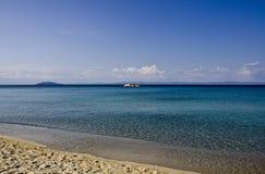Strand in Griechenland Lizenzfreie Stockbilder
