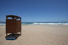 Strand in Griechenland Lizenzfreies Stockbild