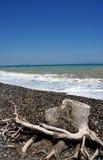Strand in Griekenland Stock Foto